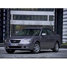 Силиконовая тонировка на статике для Hyundai Sonata NF Европа 2004-2009