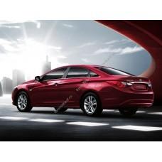 Силиконовая тонировка на статике для Hyundai Sonata (YF) 2010-2013