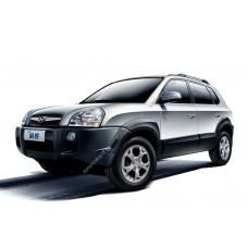 Силиконовая тонировка на статике для Hyundai Tucson 2004-2009