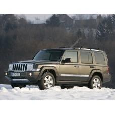 Cиликоновая тонировка на статике для Jeep Commander ХК 2005-2010