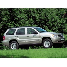 Cиликоновая тонировка на статике для Jeep Grand Cherokee 2 поколение 1999-2004