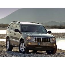 Cиликоновая тонировка на статике для Jeep Grand Cherokee 3 поколение, WH (08.2004 - 2010)