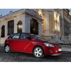 Силиконовая тонировка на статике для Kia Ceed I поколение 5d (ED) 2006-2012