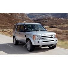 Силиконовая тонировка на статике для Land Rover Discovery 3