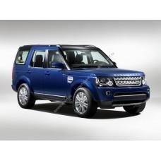 Силиконовая тонировка на статике для Land Rover Discovery 4 поколение 2009-2017