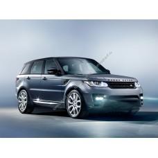 Силиконовая тонировка на статике для Land Rover Range Rover Sport L320 2005-2013