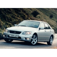 Силиконовая тонировка на статике для Lexus IS 200 1998-2005