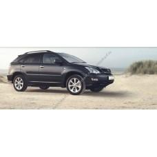 Силиконовая тонировка на статике для Lexus RXII 1997-2009