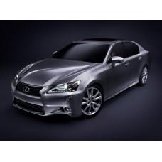 Силиконовая тонировка на статике для Lexus GS 250 2012-2016 4 поколение