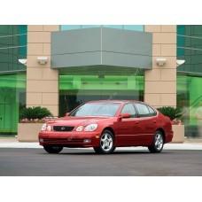Силиконовая тонировка на статике для Lexus GS300 1997-2004