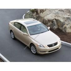 Силиконовая тонировка на статике для Lexus GS 300 кузов S190 2005-2012
