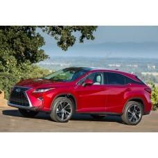 Силиконовая тонировка на статике для Lexus RX IV 350 2015, suv, 4 поколение, AL20 (09.2015 - н.в.)
