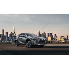 Силиконовая тонировка на статике для Lexus UX200 2018, suv, 1 поколение (03.2018 - н.в.)