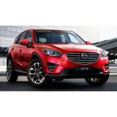 Силиконовая тонировка на статике для Mazda CX-5 1 поколение, KE (01.2014 - 07.2017)