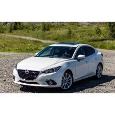 Силиконовая тонировка на статике для Mazda 3 2013-2016