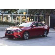 Силиконовая тонировка на статике для Mazda 6 2012-н.в.