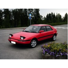 Силиконовая тонировка на статике для Mazda 323 1991-1995