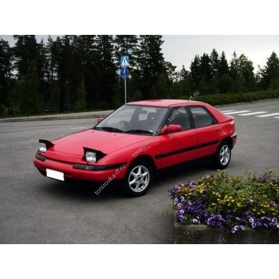 Купить силиконовую тонировку на статике для Mazda 323 1991-1995 можно в магазине Тонировка-РФ.ру