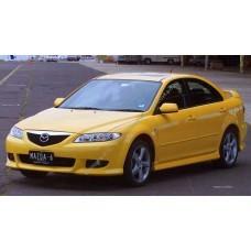 Силиконовая тонировка на статике для Mazda 6 I поколение 2002-2008