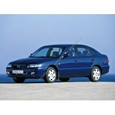 Силиконовая тонировка на статике для Mazda 626
