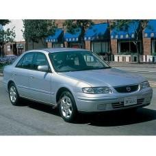 Силиконовая тонировка на статике для Mazda Capella 1997-2002