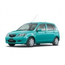 Силиконовая тонировка на статике для Mazda Demio (DY5) 2002-2007