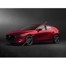 Силиконовая тонировка на статике для Mazda 3 - 4 поколения BP 2018-н.в