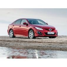 Силиконовая тонировка на статике для Mazda 6 II поколение 2007-2012