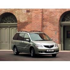Силиконовая тонировка на статике для Mazda MPV 2 поколение, LW (06.1999 - 2006)