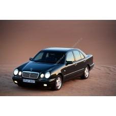 Силиконовая тонировка на статике для Mercedes E-Class w210 1995-2002
