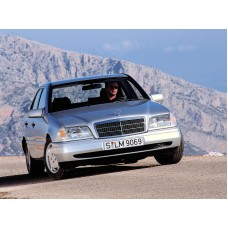 Силиконовая тонировка на статике для Mercedes C W202 1993-2000