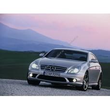 Силиконовая тонировка на статике для Mercedes CLS W219 2004-2011