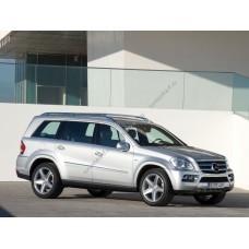 Силиконовая тонировка на статике для Mercedes GL-350 2006-2012