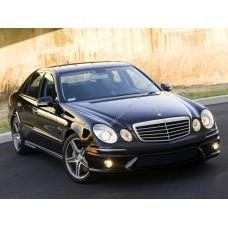 Силиконовая тонировка на статике для Mercedes E-Class w211 2002-2009