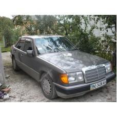Силиконовая тонировка на статике для Mercedes E-Class 1991-1995