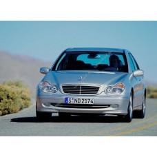 Силиконовая тонировка на статике для Mercedes C 2000-2007