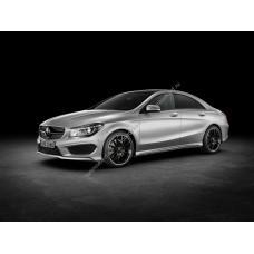 Силиконовая тонировка на статике для Mercedes CLA-Class 1 поколение, C117 (04.2013 - нв)