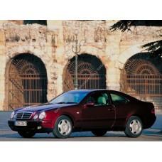 Силиконовая тонировка на статике для Mercedes CLK-Class купе, 1 поколение, W208 (06.1997 - 10.2002)