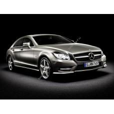 Силиконовая тонировка на статике для Mercedes CLS-Class 2 поколение, C218 (10.2010 - 2017)
