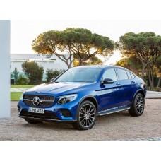 Силиконовая тонировка на статике для Mercedes GLC Coupe 1 поколение, C253 (06.2016 - н.в.)