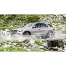 Силиконовая тонировка на статике для Mercedes GLЕ W167 2018-н.в.