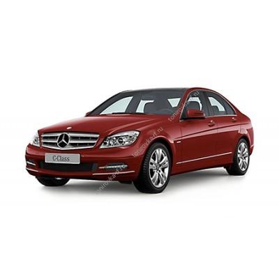 Купить силиконовую тонировку на статике для Mercedes C-Class W204 2006-2015 можно в магазине Тонировка-РФ.ру