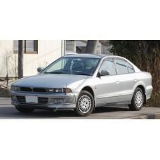 Силиконовая тонировка на статике для Mitsubishi Galant 1996-2004