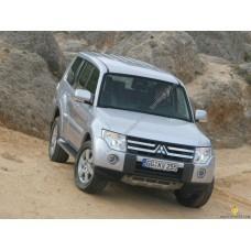 Силиконовая тонировка на статике для Mitsubishi Pajero IV 2006-2012