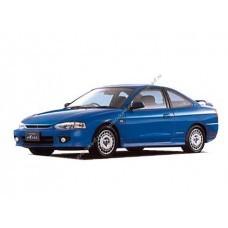 Силиконовая тонировка на статике для Mitsubishi Mirage Coupe 5 поколение (1997-2002)