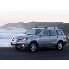 Силиконовая тонировка на статике для Mitsubishi Outlander 1 поколение, CU0W (03.2003 - 03.2006)