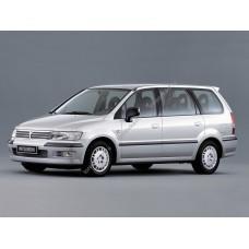 Силиконовая тонировка на статике для Mitsubishi Space Wagon, 3 поколение (1997-2004)