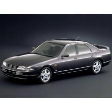 Силиконовая тонировка на статике для Nissan Skyline ER33 1993-1998