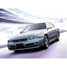 Силиконовая тонировка на статике для Nissan Skyline ER34 4D 1998-2001