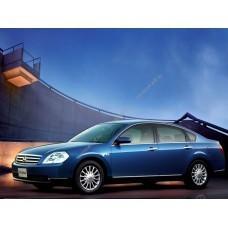 Силиконовая тонировка на статике для Nissan Teana J31 2003-2008